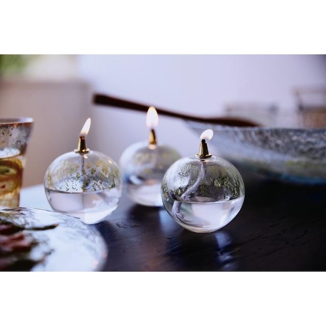 【ギフト包装可】Handmade Oil Lamp by Tsugaru Vidro