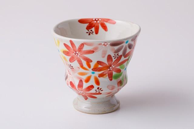 湯呑ペコ 花の宴-utage-赤