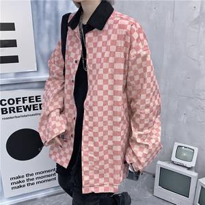 ブロックチェックシャツジャケット RD8198