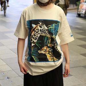 "90s ""Down To Earth""  Animal T-shirts  Deadstock  90年代 アニマルtシャツ デッドストック A711"