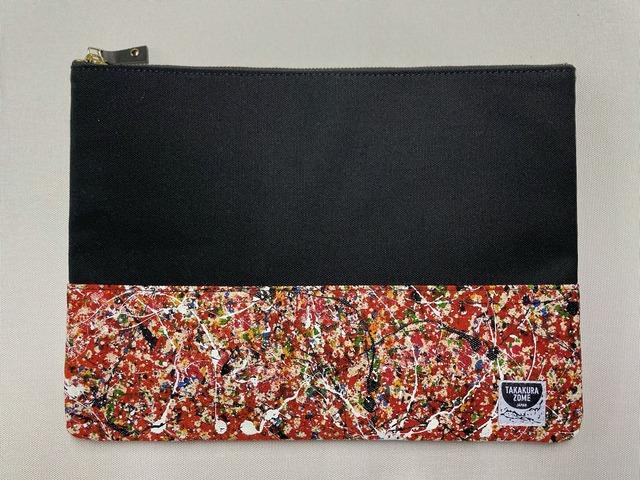 SHIBUKI ART Clutch Bag / GINGA