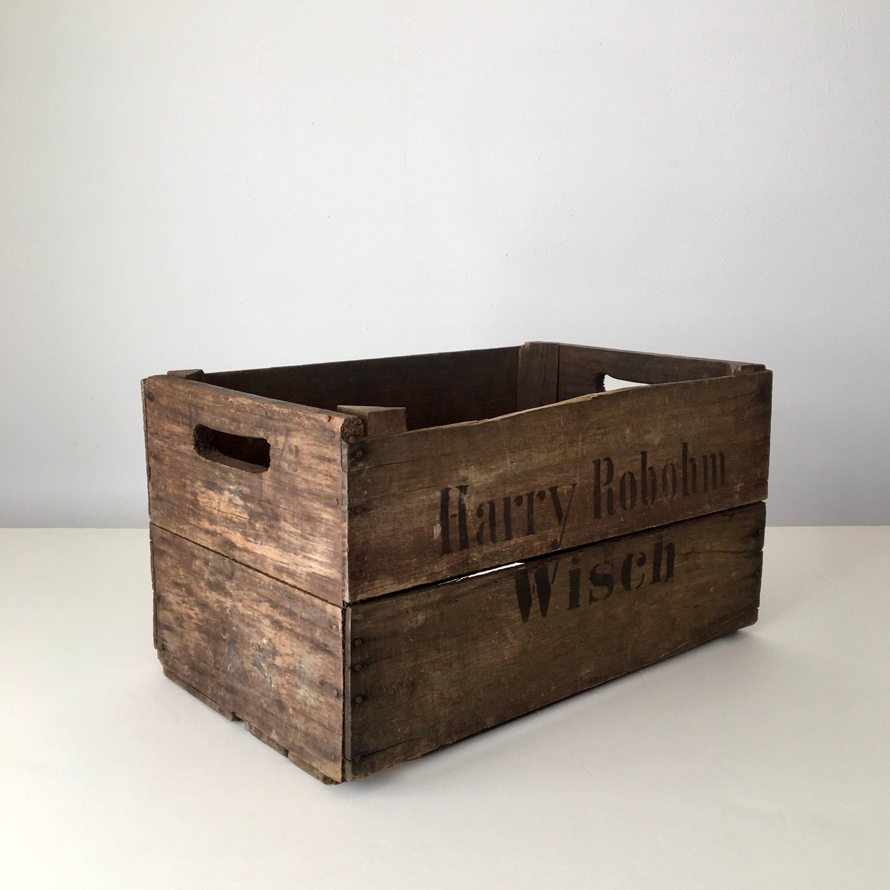 ヴィンテージのリンゴの木箱② Vintage German Apple Box