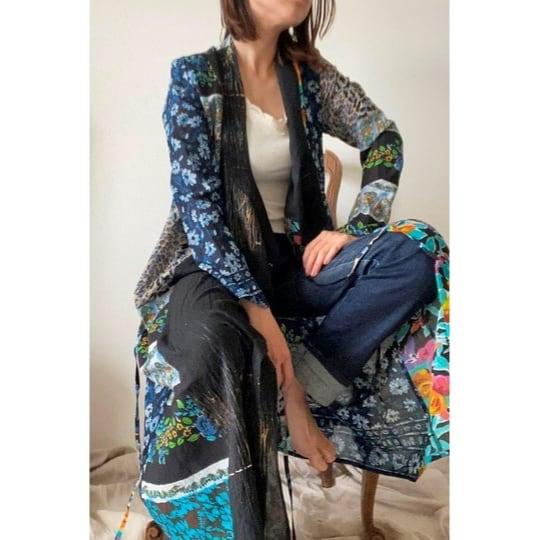 【RehersalL】ethnic gown onepiece(dark D) /【リハーズオール】エスニックガウンワンピース(ダークD)
