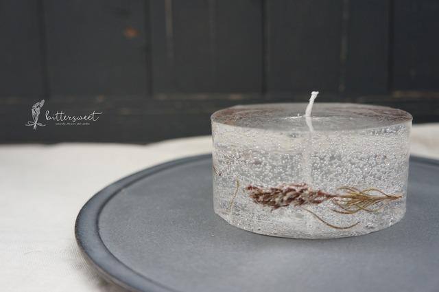 Botanical candle    no.007