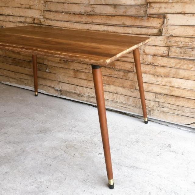 テーブル脚4本セット 73cm ブラウン