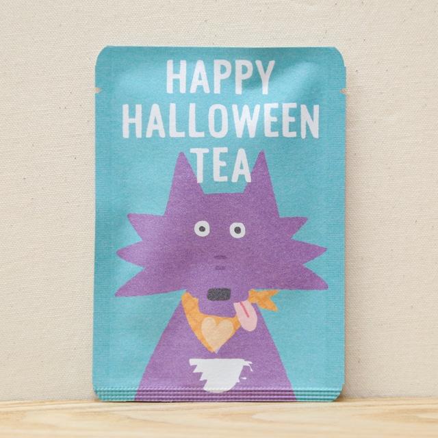 HAPPY HALLOWEEN TEA (オオカミ)|ごあいさつ茶|和紅茶ティーバッグ1包入り