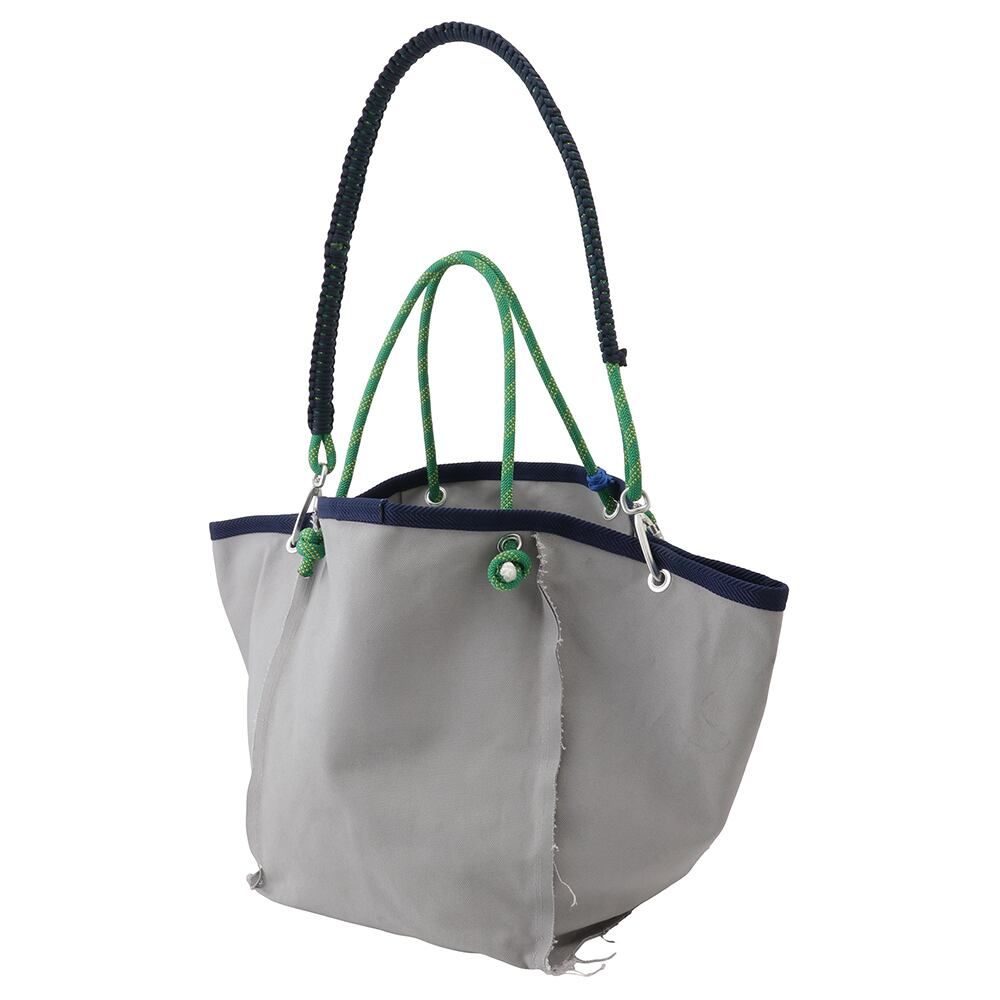 Sound type Large Tote bag / Gray - 画像1