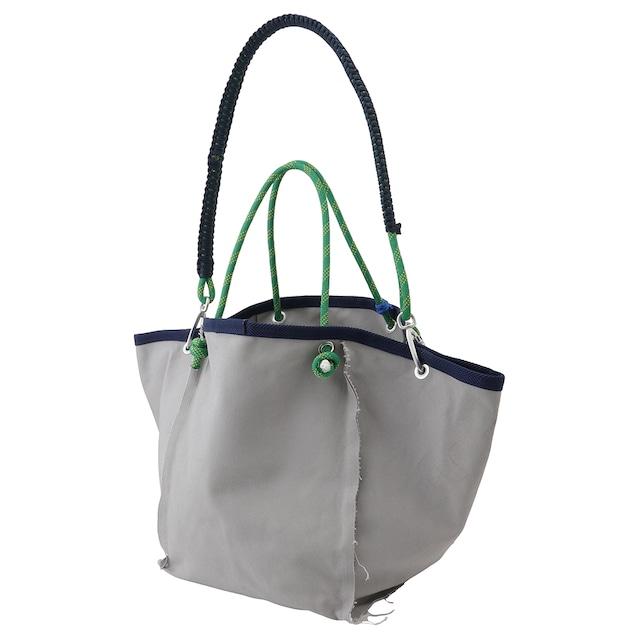 Sound type Large Tote bag / Gray - メイン画像