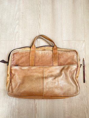 used leather bag No.016「森メメント」