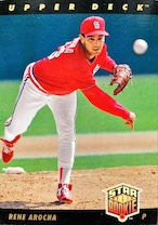 MLBカード 93UPPERDECK Rene Arocha STAR ROOKIE  #003 CARDINALS