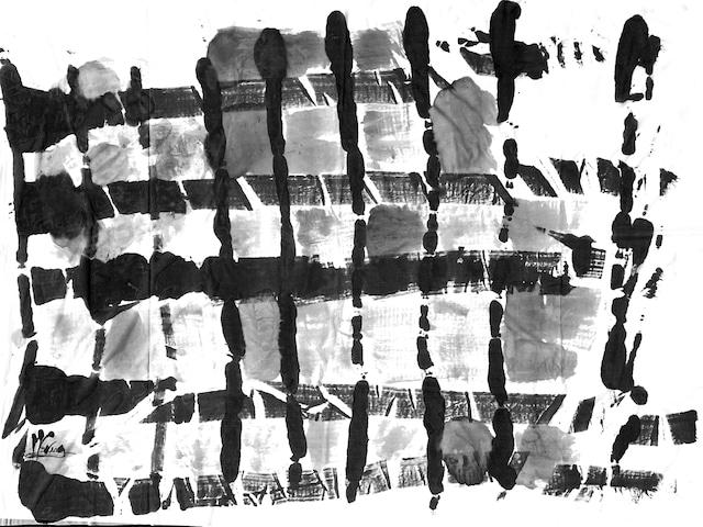 [着るアートストール]PLAIN CORNICE STOLE【SILKシルク】1117SILK-HP54 [登録意匠][送料/税込]
