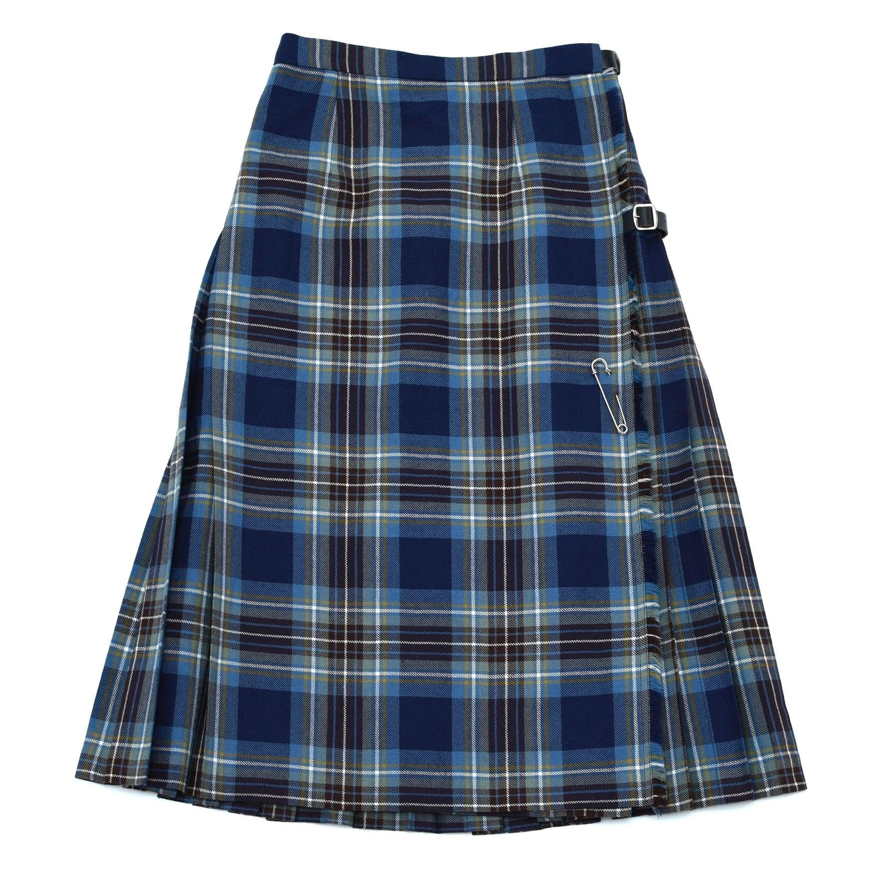 LOCHCARRON tartan check kilt skirt