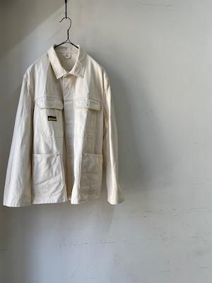 1970's Vintage French Ecru Work Jacket(1970年代頃 フランス 生成りワークジャケット)