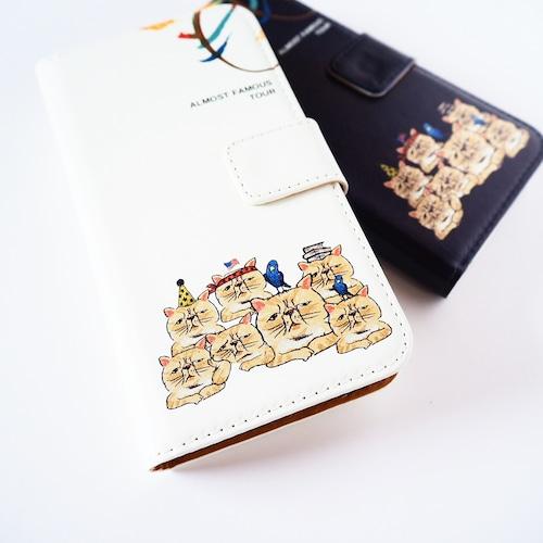 neko 手帳型スマホケース