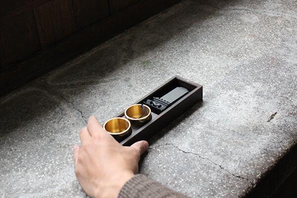 旅する仏壇:黒檀(位牌・おりん・香炉セット)