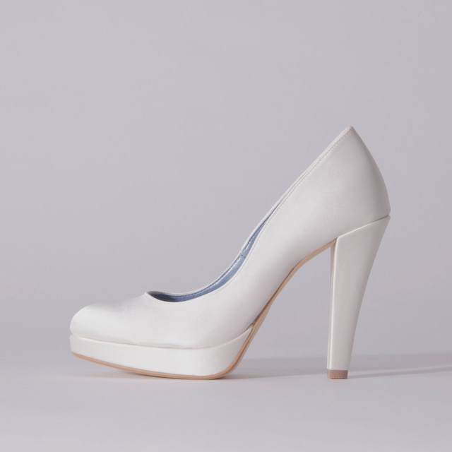 Satin / Close Toe / 12cm / WH 【1121 WH】