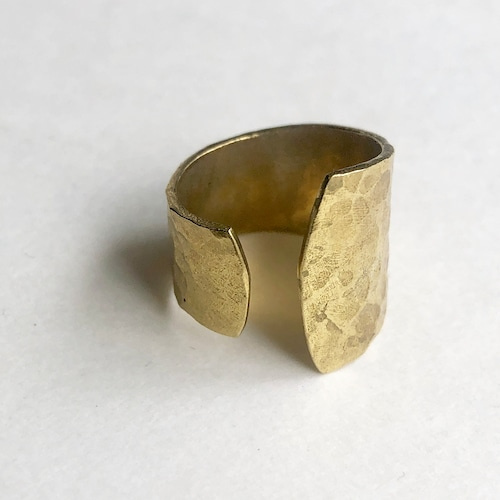 Raw brass Rings -  layerリング  RG-022