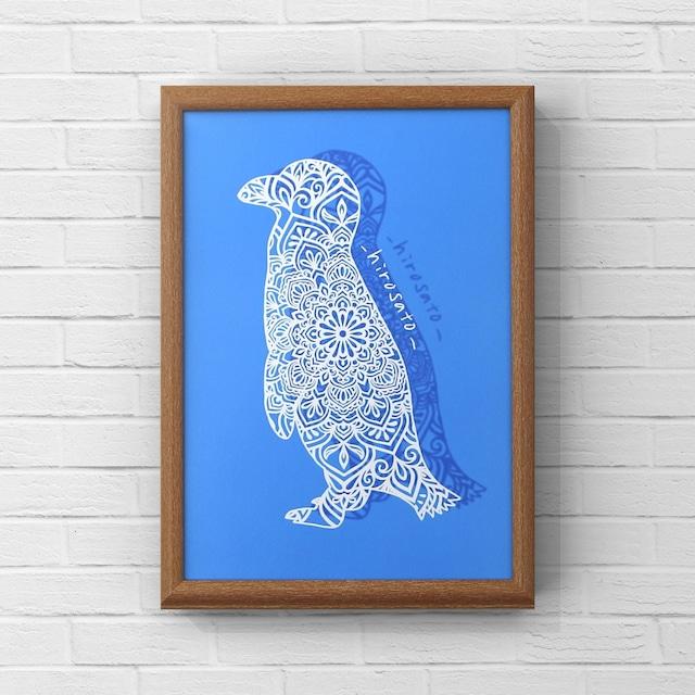 ペンギンマンダラ:A4サイズ