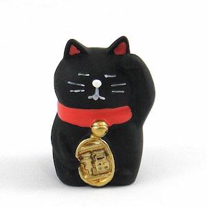 うとうと招き猫(三毛猫・黒猫)