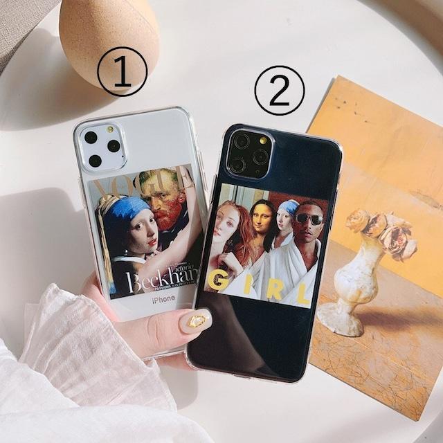 Gogh oil air iphone case