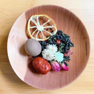 チャリカの八宝茶(台湾産龍眼入り)