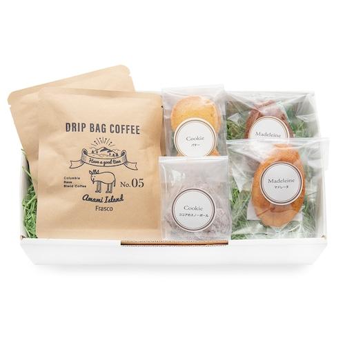 珈琲と焼菓子のセット gift-D