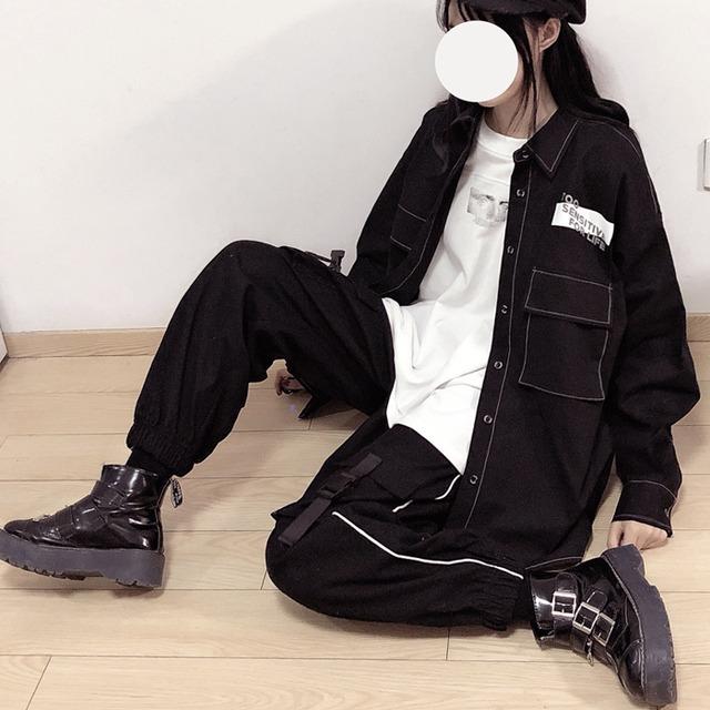 boys pants black