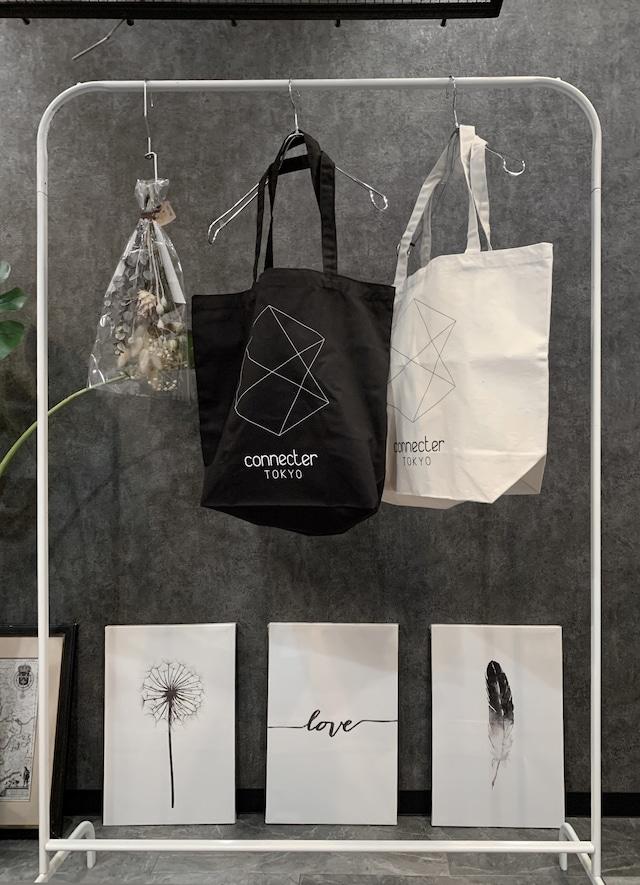 Connecter Tokyo tote bag black/beige
