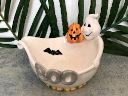 かわいいキャンディー入れ、もちろん 小物入れとしても! halloween キャンディー 石けん入れ 小物入れ ハロウィン 約15cm