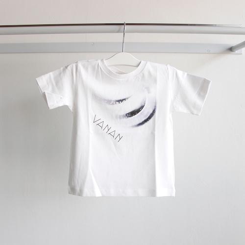 《WONDER FULL LIFE 》STAR TRAIL T-SHIRTS / VANAN / white / 100・120・140