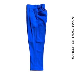 Cross Tuck Pants/BLUE