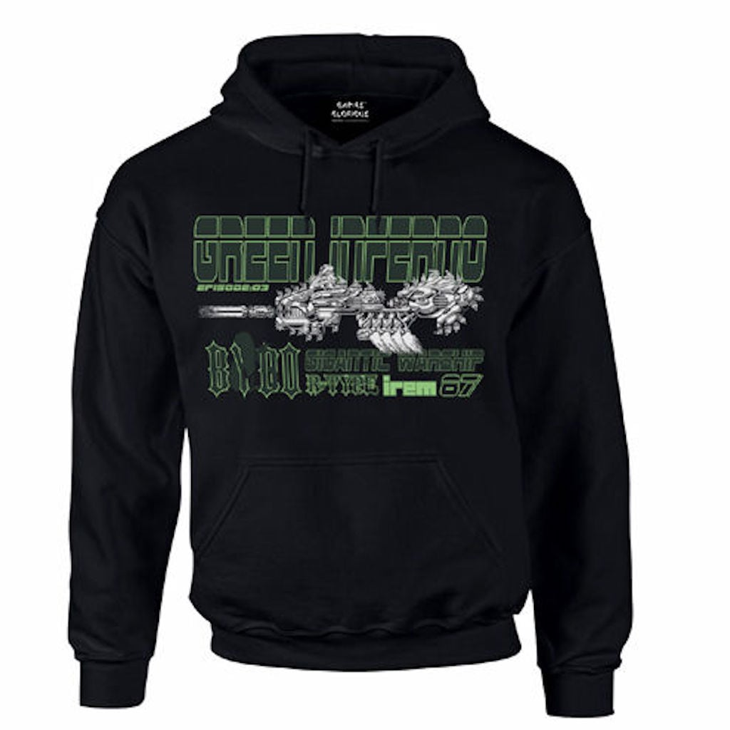 R-TYPE「GREEN INFERNO Parka」 / GAMES GLORIOUS