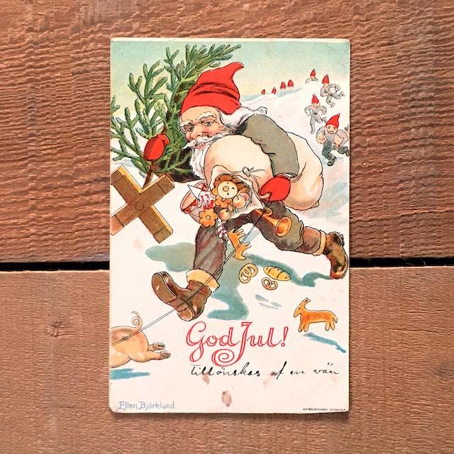 クリスマスカード「Ellen Björklund(エレン・ビョークルンド)」《201101-03》