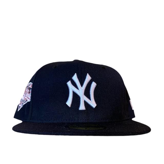 NEW ERA New York Yankees 2000 World Series 59Fifty Fitted / Navy×White (Pink Brim)
