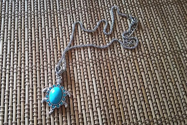 フクロウ ネックレス tibetan silver