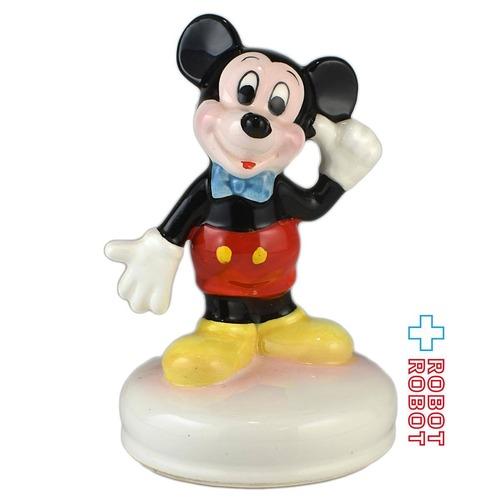 ミッキーマウス 陶器製 オルゴール
