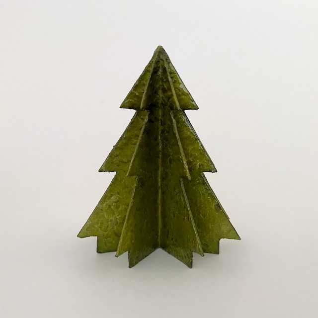 Christmas Tree Capiz Olive Green|クリスマスツリー オリーブグリーン