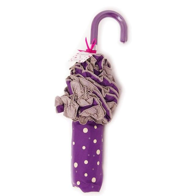 ボンベイダック ハンドバッグ アンブレラ(折り畳み傘) パープル