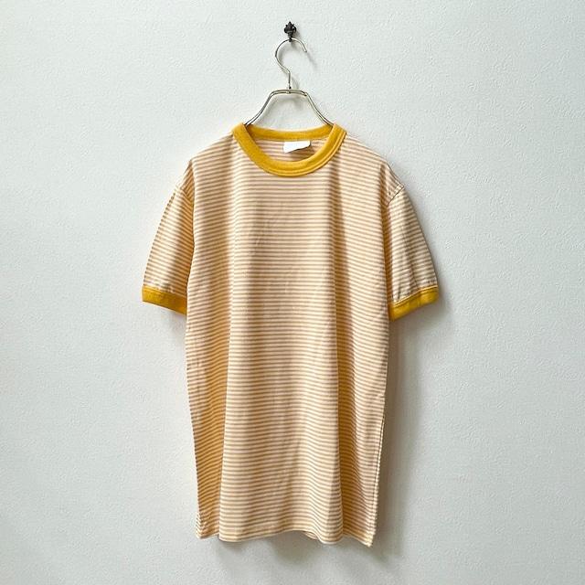 90年代 MERRYGARDEN メリーガーデン USA製 デッドストック リンガーTシャツ 日本M〜L