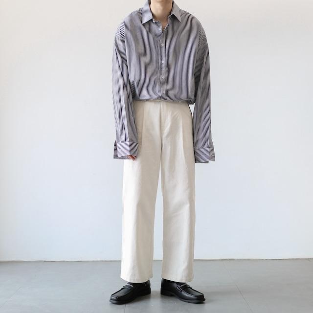 Classic striped shirt   a-420