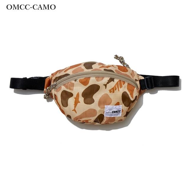 PK Fannypack Round - Ripstop Nylon Solid OMCC-CAMO (カモ) [OMC-PF0001]