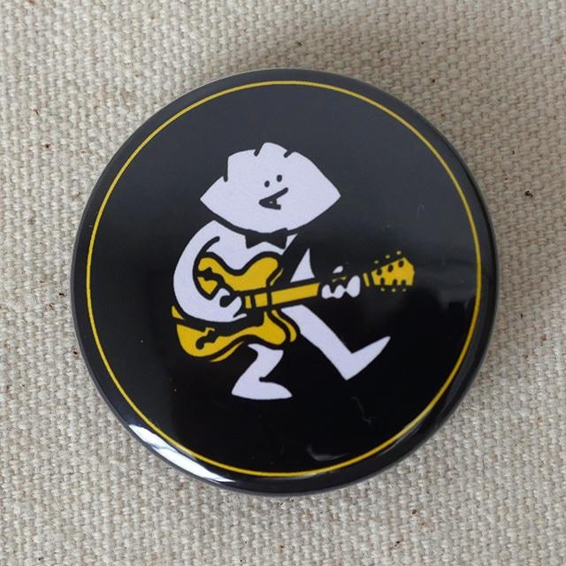 缶バッジ 38mm ギターGYOZA