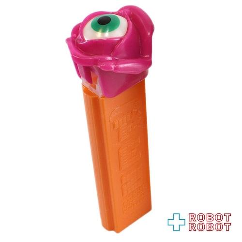 PEZ サイケデリックフラワー 限定版 ピンク花オレンジステム 開封箱なし