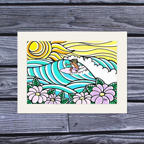 アートプリント A4(Sunshine Surf)