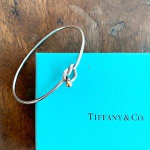 TIFFANY & Co. 18K×シルバーバングル