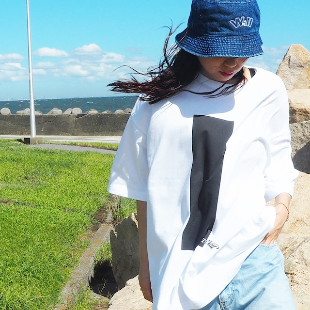 Inversion Big Silhouette T-shirts White