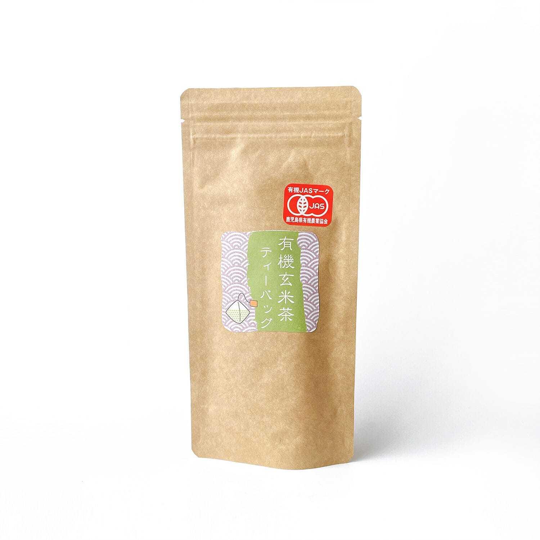 鹿児島県・屋久島『有機玄米茶(ティーバッグ)』