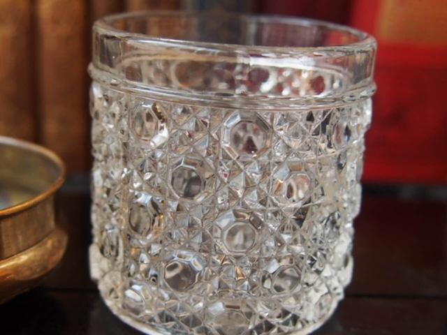 イギリスアンティーク ガラスジャー