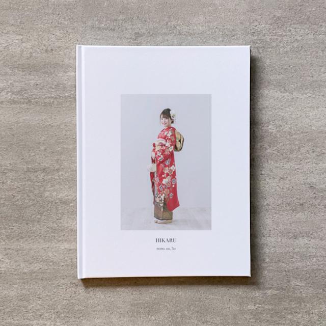 Simple white-成人式_B5スクエア_6ページ/6カット_フォトブック