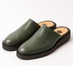 leather mule/BLK/LIBERTAS/LIB18-1L1M01【受注生産】